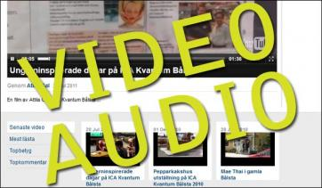 Audio-Video på Håbo Portalen