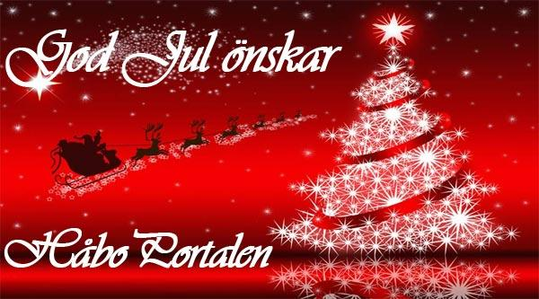 God Jul önskar HåboPortalen